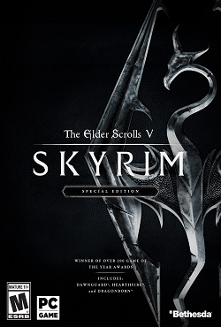 The Elder Scrolls 5: Skyrim Special Edition Механики